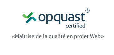 Logo certification Opquast