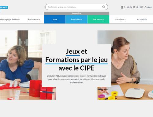 Le CIPE a fait appel à de l'AMO pour se doter d'un nouveau site web