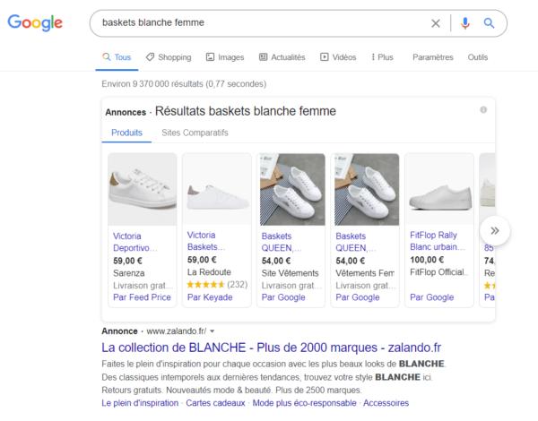 Visuel 1 article google shopping