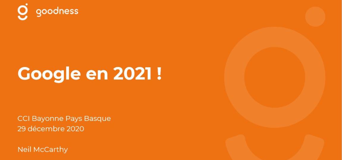 Google en 2021 - image d'entête